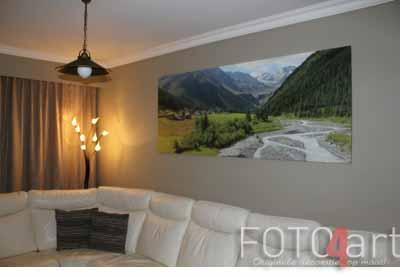 Foto op Canvas Bergen