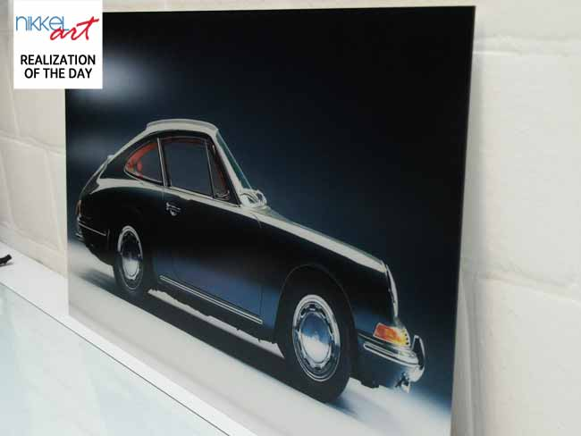 Photo on acrylic anti reflective porsche
